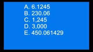 Download Numbers practice Video