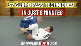 Download 57 BJJ Guard Passing Techniques in Just 8 Minutes - Jason Scully Video
