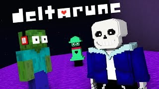 Download Monster School : DELTARUNE UNDERTALE 2 GAME CHALLENGE - Minecraft Animation Video