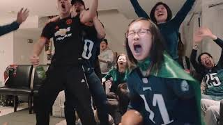 Download Eagles Win the Superbowl. Everyone Goes Nuts. Video