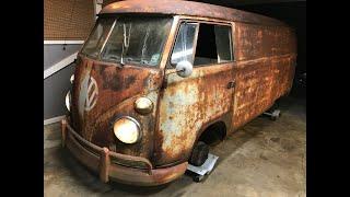 Download FIRST OIL CHANGE IN OVER 40 YEARS - RESURRECTION RESTORATION!!! 1962 VW Type 2 Van/Bus, VW Kombi Video