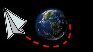 Download FLYING A PAPER AIRPLANE AROUND THE WORLD! | Flight Video