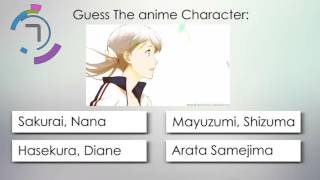 Download Anime Quiz Winter 2016 - Guess The anime character! Video