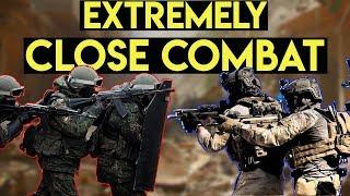 Download Extremely Close Quarter Battle 250 vs 25 | Milsim West Flash Point Astana (M1919, ARP9, LCT AK47) Video