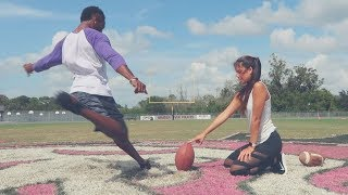 Download YOU SHOULD BE IN THE NFL IF YOU CAN KICK THIS FAR Video