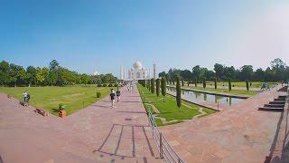 Download Taj Mahal 360° / VR video Video