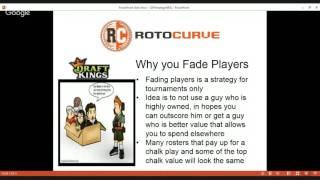 Download NBA Learning Curve: GPP Strategies for DraftKings & FanDuel Video