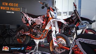 Download KTM EXC 450 Project   Tuning story 2.0   Winter Project Video