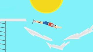 Download WORLD'S HIGHEST JUMP! (Happy Wheels #32) Video