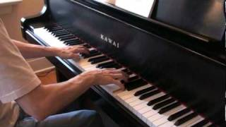Download Piano Refrain du gondolier, sailor's song, opus 109 Burgmuller.mpg Video
