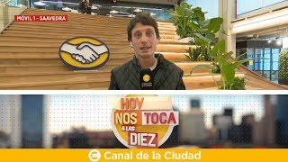 Download Macri, en la apertura: Mercado Libre abrió un nuevo Centro de desarrollo en Hoy nos toca a las Diez Video