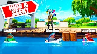 Download ALI-A CAN'T FIND ME!! | Fortnite Hide & Seek With Lachlan, Ali-A & LazarBeam Video