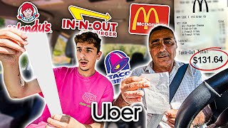 Download Letting UBER DRIVERS Decide What I EAT for 24 HOURS!! Video