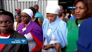 Download Mourners attend Tsvangirai's funeral service Video