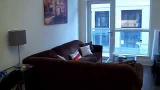 Download 1 bedroom Furnished condo apartment Toronto Video