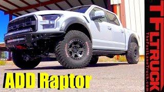Download 2017 Ford Raptor Gets a Addictive Desert Design Extreme Off-Road Makeover Video