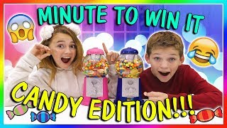 Download MINUTE TO WIN IT | CANDY EDITION | We Are The Davises Video
