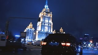 Download BMW X5M vs ML63 Moscow street racing Video