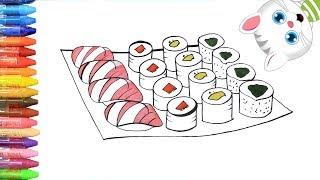 Download Sushi - Cara Menggambar dan Mewarnai TV Anak Video