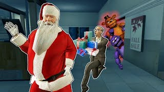 Download SAVING SANTA AND CHRISTMAS! ESCAPE FROM FNAF! - Garry's Mod Gameplay - Gmod Roleplay (Kid Friendly!) Video