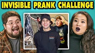 Download College Kids React to #InvisiblePrank Challenge Compilation Video