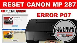 Ink absorber full FIX! RESET Canon IP1800-1980! Free