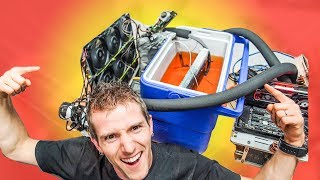 Download My 10 Year Old Chiller WORKS! -20C on THREADRIPPER! Video