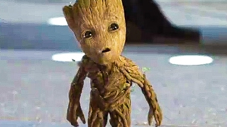 Download GUARDIANS OF THE GALAXY 2 'Baby Groot & Rocket' TV Spot Trailer (2017) Video