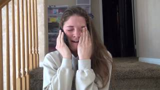 Download Aubrey - Reaction to Harvard Acceptance Video