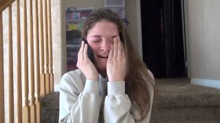 Download Aubrey - Reaction to Harvard Acceptance Video