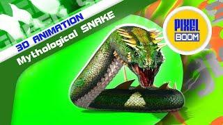 Green Screen Giant Monster Poop Attack - PixelBoom Free