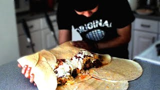 Download 12lb Monster Burrito (9,230 Calories) Video