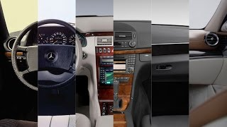 Download Mercedes E-class 2016 - the evolution of the interior from w123 to w213 Video