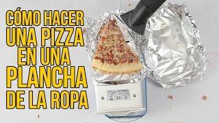 Download Cómo hacer una PIZZA con una PLANCHA de la ropa (Experimentos Caseros) Video
