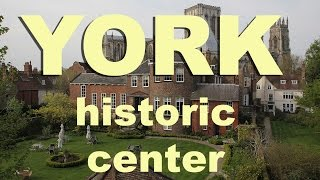 Download York England historic center Video