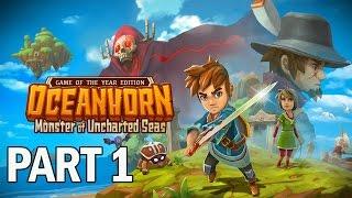 Download Oceanhorn Monster of Uncharted Seas Walkthrough Part 1 - Let's Play Gameplay (PC) Video