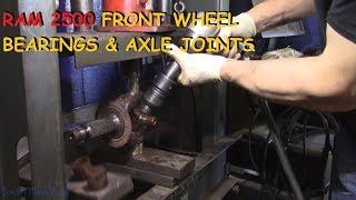 Download Dodge Ram 2500/3500: Front Wheel Bearings & U-Joints - Part I Video