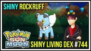 Download BLUE PUPPY! SHINY ROCKRUFF! | Shiny Living Dex #744 | Pokemon Sun and Moon Video
