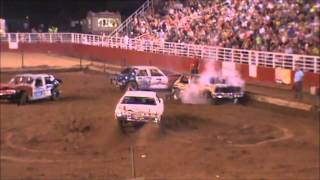 Download 2013 August Demolition Derby Springdale Arkansas - Stock Class Video