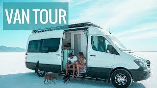 Download VAN LIFE TOUR: The Ultimate DIY Sprinter Van Conversion With Bathroom Video