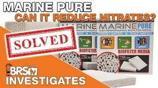 Download Can Marine Pure really reduce nitrates? We gain some valuable insight... | BRStv Investigates Video