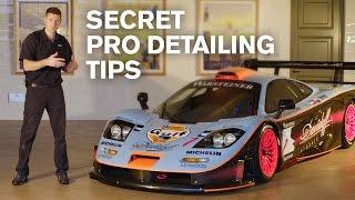 Download SECRET Pro-Detailing Tips: McLaren F1 GTR LT (138h detail) Video