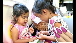 Download THEY'RE PAINTING THEIR OWN NAILS! - August 27, 2017 - ItsJudysLife Vlogs Video