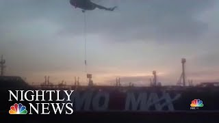 Download New Audio Of Iranian Seizure Of British Tanker   NBC Nightly News Video