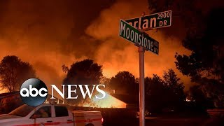 Download Deadly California fire burns over 90,000 acres Video