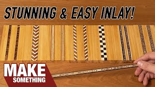 Download How to Make Your Own Inlay Banding and Enhance Your Woodworking Video