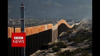 Download Life in the Shadow of US-Mexico border Wall - BBC News Video