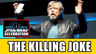 Download Mark Hamill's THE KILLING JOKE Joker Monologue At Star Wars Celebration Video