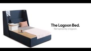 Download Lagoon Bed Reinspired By A Lagoon | Script By Godrej Video