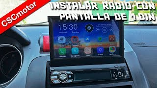 Download Instalar radio con pantalla extraible | Consejos Video